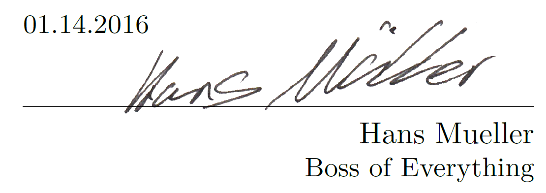 Create your own professional digital Signature and learn